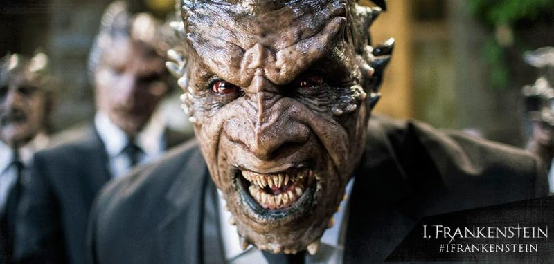 Illustration for article titled We, Frankenstein: The Deeper Meaning of the Frankenstein-vs-Demons Film