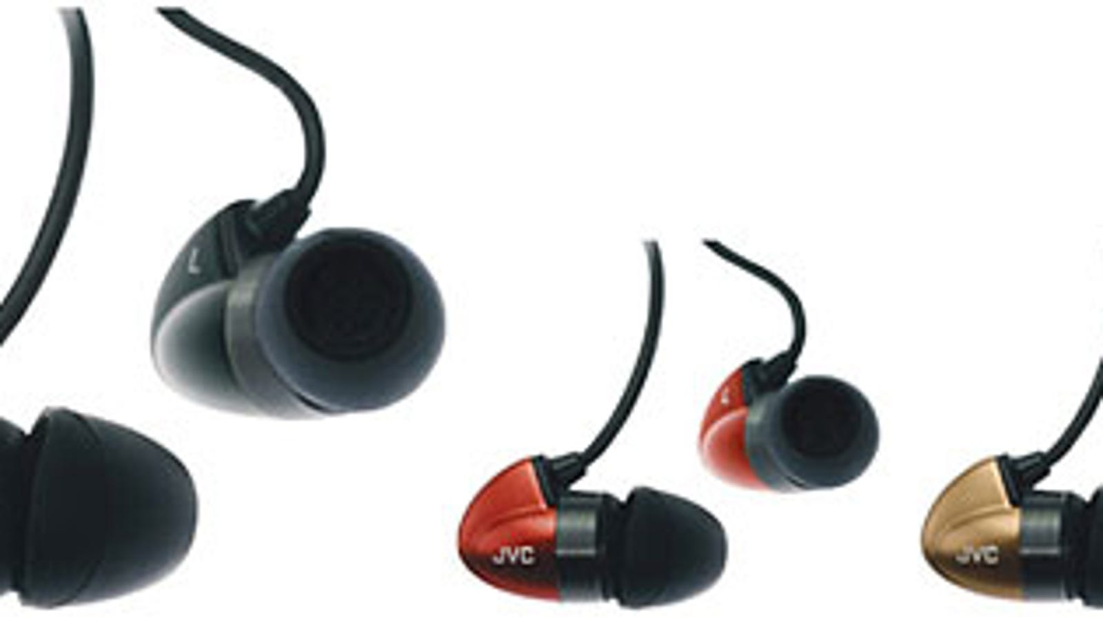 ear buds togo assortment - JVC Moves Upmarket with Fancy HA-FX300 Earphones