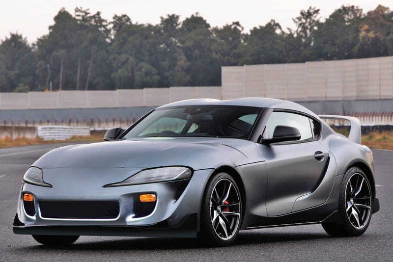 Illustration for article titled The new Supra is one bumper away from being handsome (imo)
