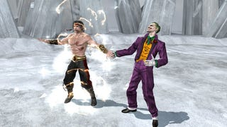 Illustration for article titled MK vs. DC: The Joker's Fatality Gets T-Rated