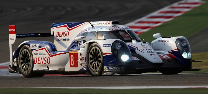 """Illustration for article titled FIA Cracks Down On Toyota's """"Cheater Wing"""" Design In 2015"""
