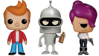 Illustration for article titled Ready Your Farnsworth Jokes, Futurama Pop Vinyls Are Coming