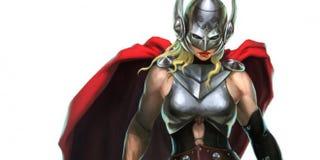 Illustration for article titled Marvel revela la identidad de la nueva Thor, y es quien esperábamos