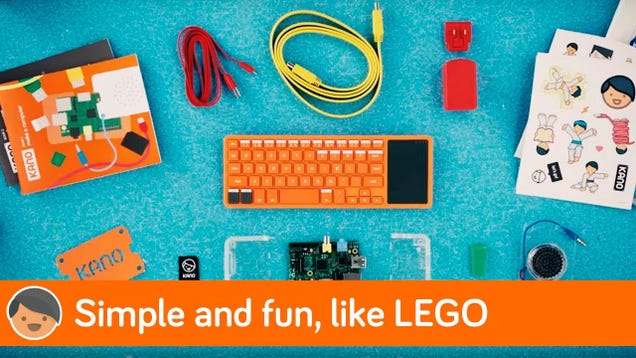 Teach Your Kids to Build and Program a Computer With the Kano Kit, Now Just $69
