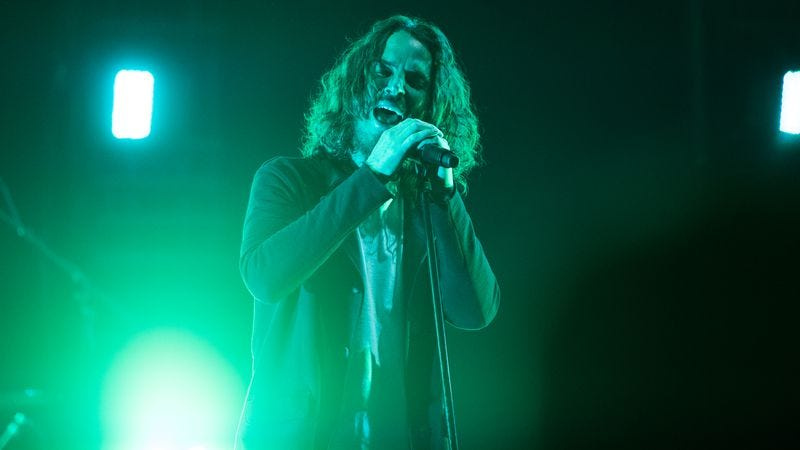 Chris Cornell onstage at a Soundgarden concert on May 3 in Atlanta. (Photo: Paul R. Giunta/Getty Images)