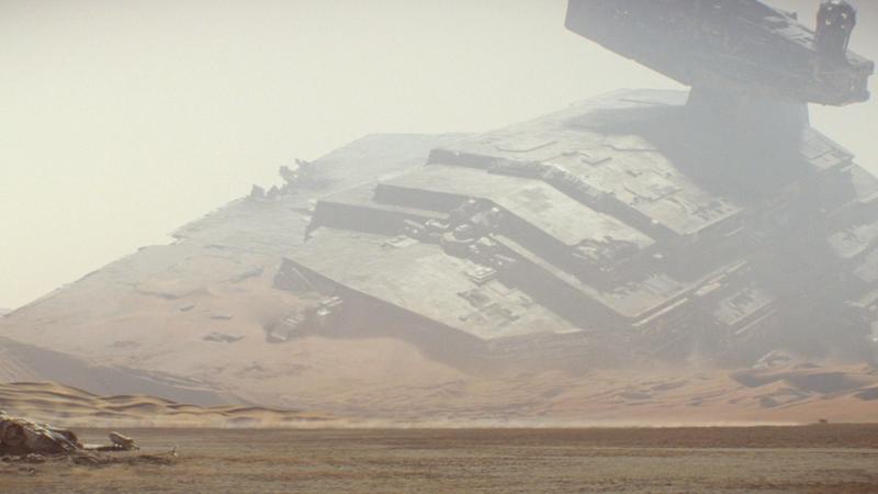 That Star Destroyer got... sand destroyed.