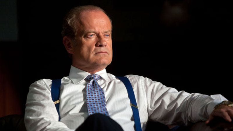 Illustration for article titled Kelsey Grammer to be the villain who isn't a giant robot in the next Transformers