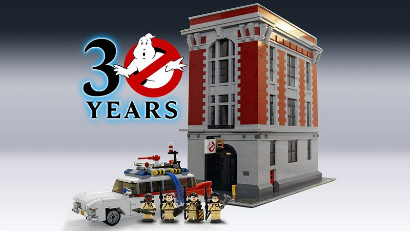 "Illustration for article titled Toys ""R"" Us Leaked More Info on the Lego Ghostbusters Firehouse HQ Set"
