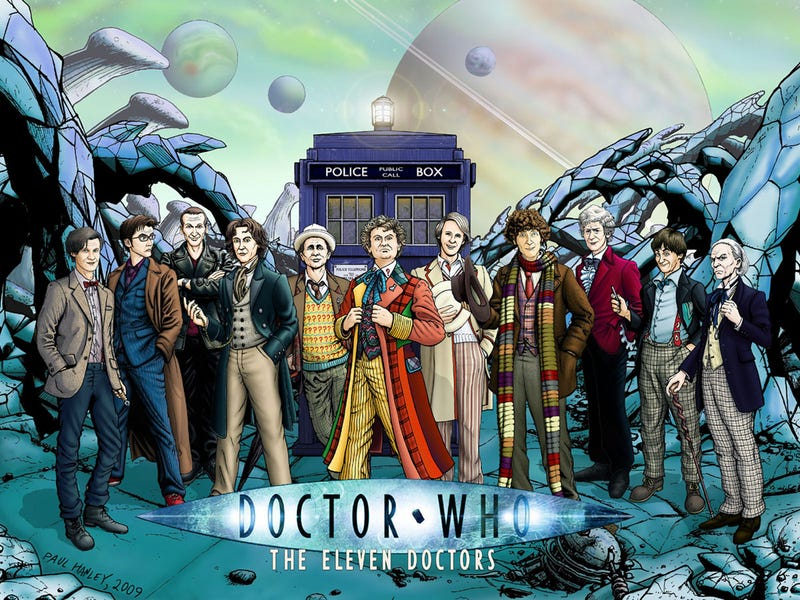 Illustration for article titled Which of Doctor Who's 11 Doctors is your boss?