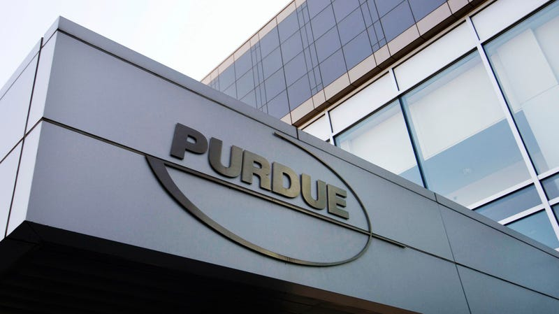 Purdue Pharma's offices in Connecticut.