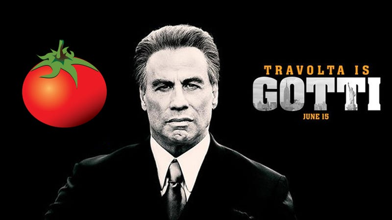 Illustration for article titled Rotten Tomatoes Says There's Nothing Weird AboutGotti's Dubious Audience Score