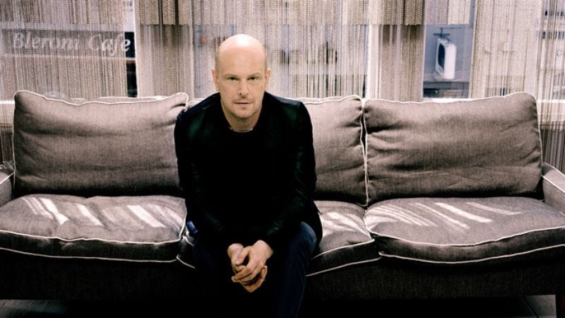 Illustration for article titled Radiohead drummer Phil Selway