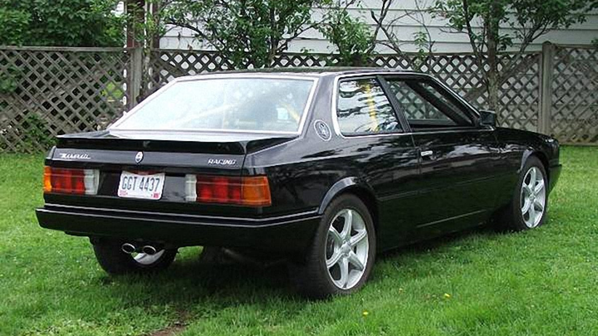 1985 maserati biturbo value