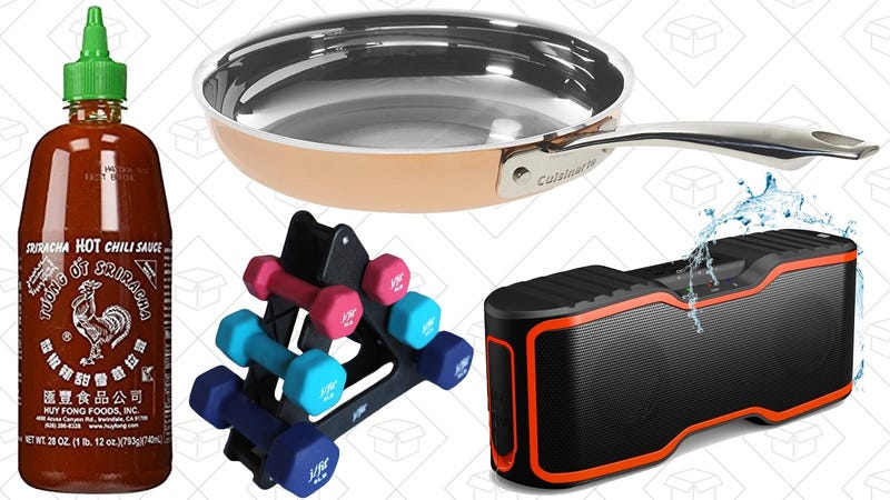 Illustration for article titled Today's Best Deals: Prime Pantry Discounts, Copper Pans, Fitness Equipment, and More