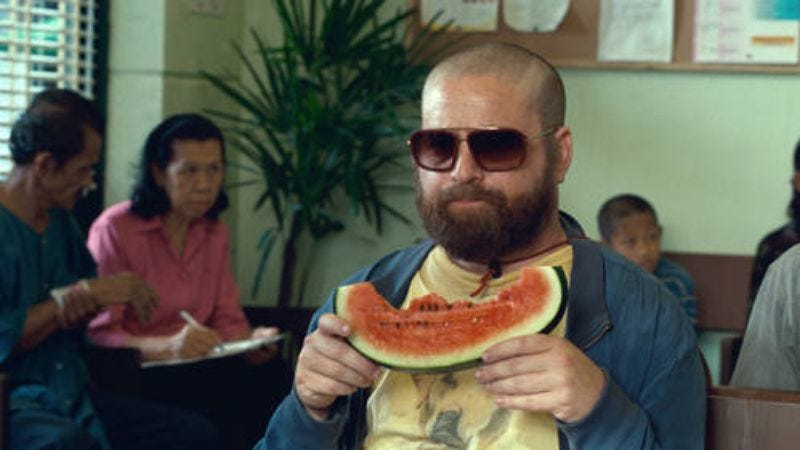 Illustration for article titled Zach Galifianakis says The Hangover Part III really will be different