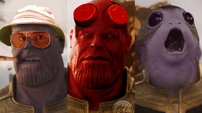 Illustration for article titled 27 Great New Avengers: Infinity WarCostumes for Thanos, as Created by You