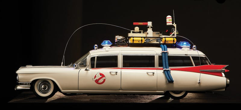 look at this 1 400 ghostbusters ecto 1 replica. Black Bedroom Furniture Sets. Home Design Ideas