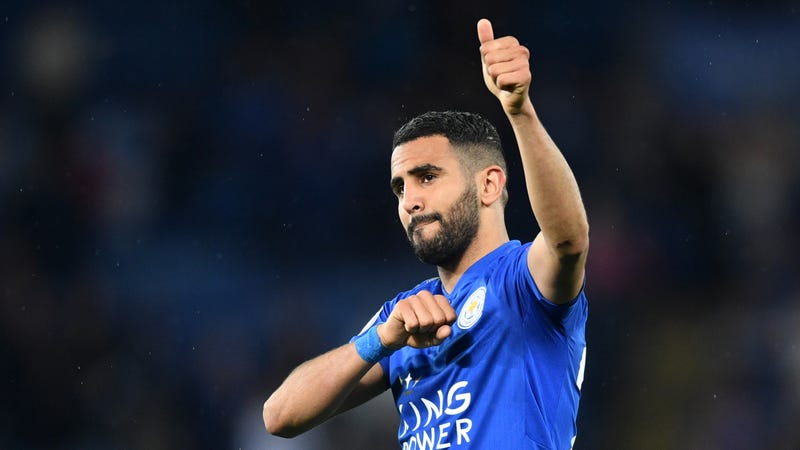 Illustration for article titled Riyad Mahrez Is Now Just Another Dude Scrapping For Attention At Manchester City