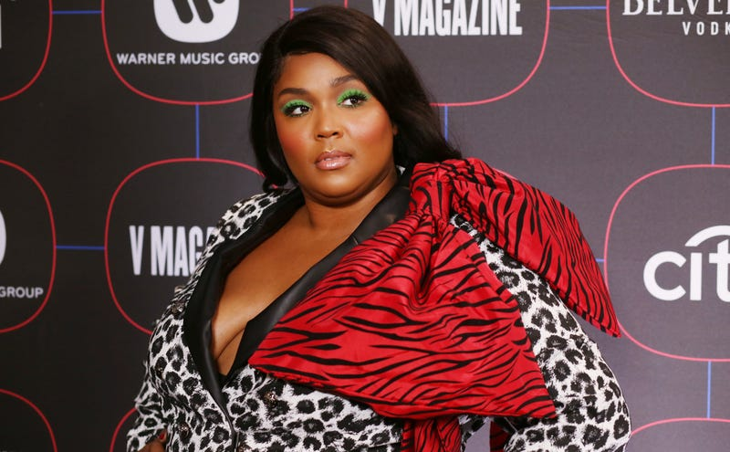 Lizzo attends the Warner Music Pre-Grammy Party at the NoMad Hotel on February 7, 2019 in Los Angeles, California.