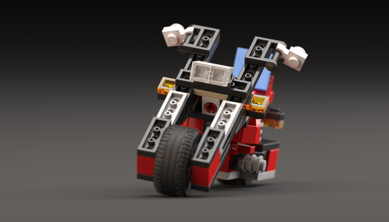 Illustration for article titled Build Your Own LEGO Easy Rider