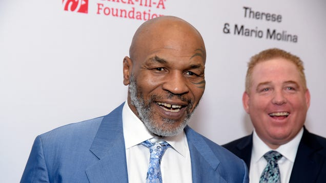 Mike Tyson says he smokes $40,000 worth of weed every month, which must get him really high