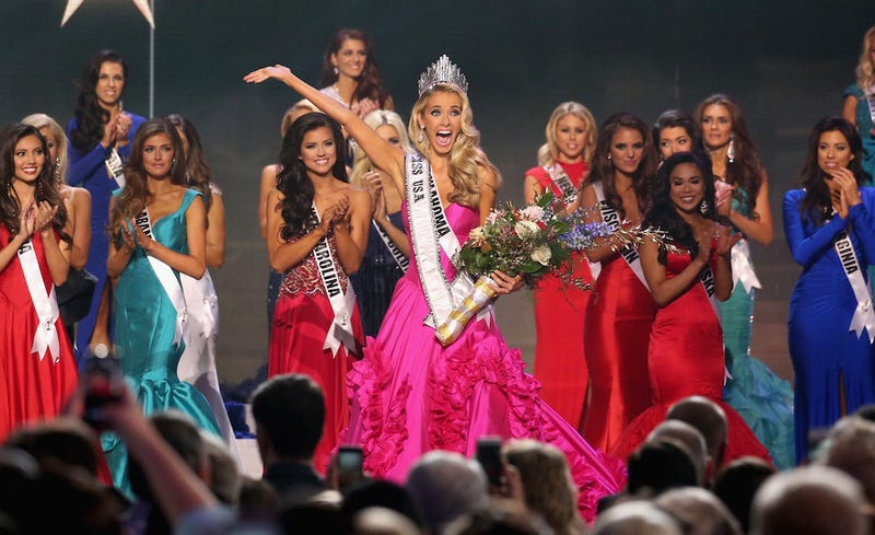 Illustration for article titled Trump's Miss USA Winner Names 'Race Relations' as Most Important Issue