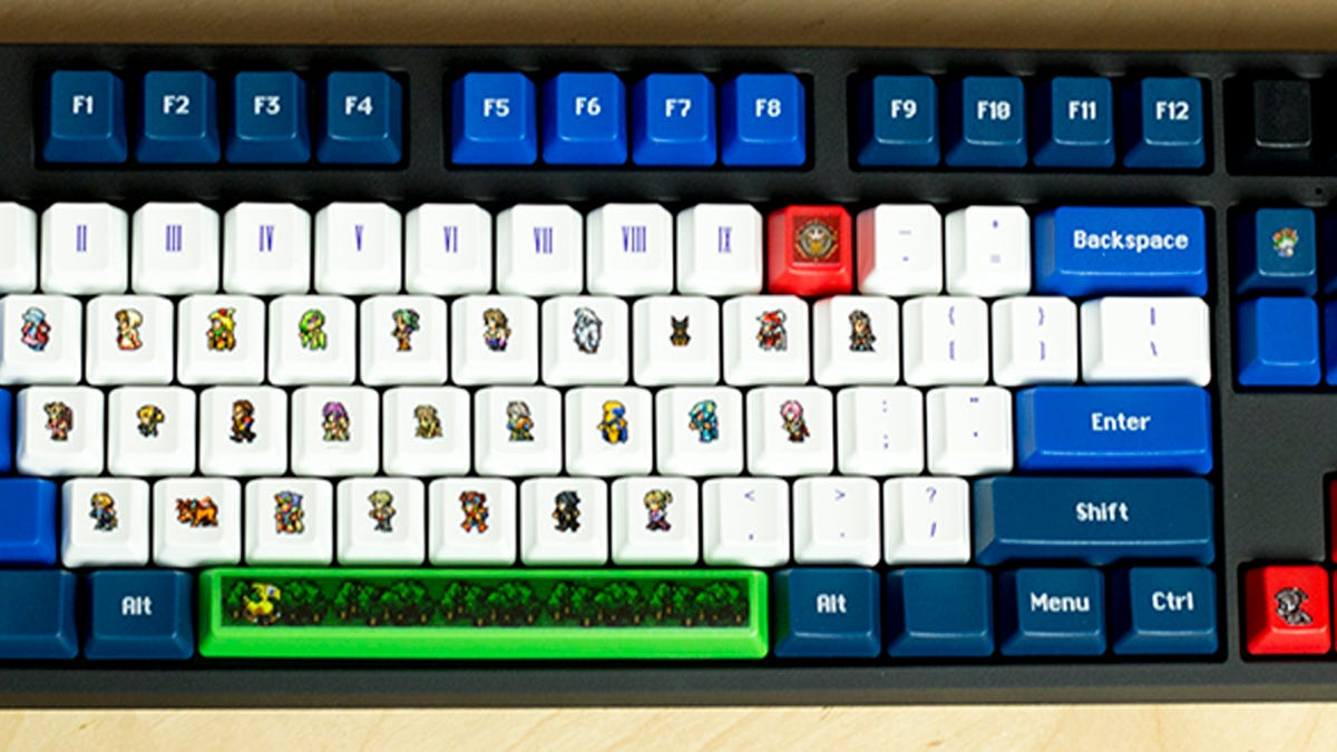My Final Fantasy Keyboard Has Quina Instead Of A Q