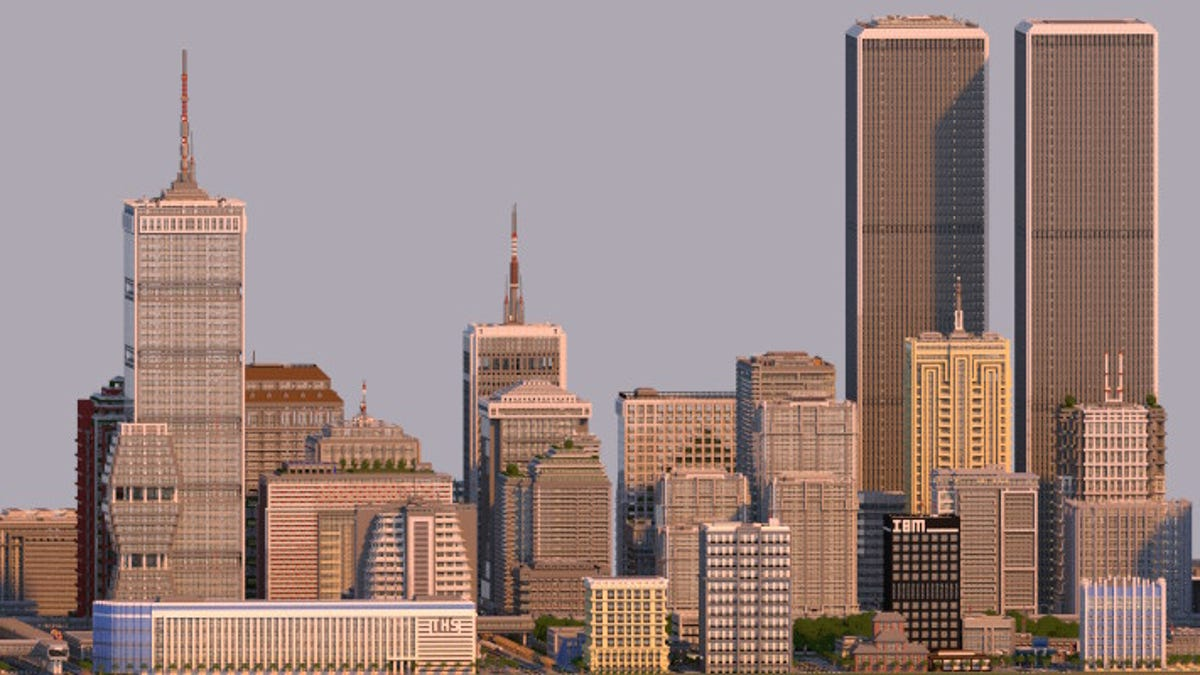 Fantastic Minecraft City Was Built on Xbox 360 Over Almost