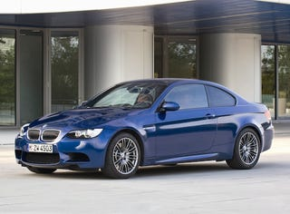 Illustration for article titled BMW M3 Gets Face Lift For 2009, Now With 10% Less Ugly