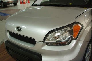 Illustration for article titled 2009 Kia Soul Photos Leaked Ahead Of Paris?