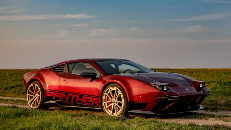 Illustration for article titled This Italian company will turn your Lamborghini Huracan into a modern day DeTomaso Pantera.