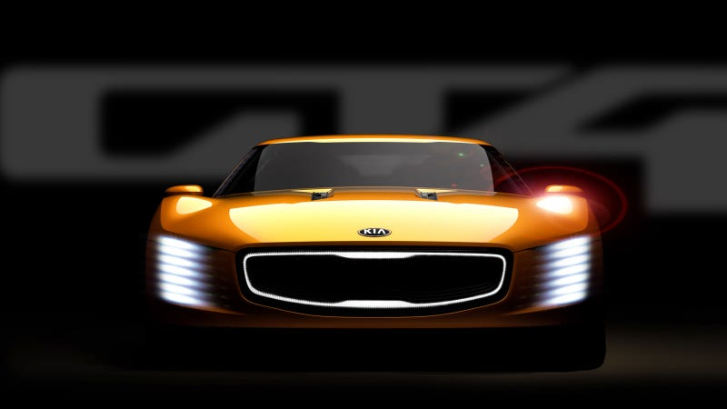 Illustration for article titled Kia GT4 Stinger Concept: 315 HP, RWD, OMGWTFBBQ