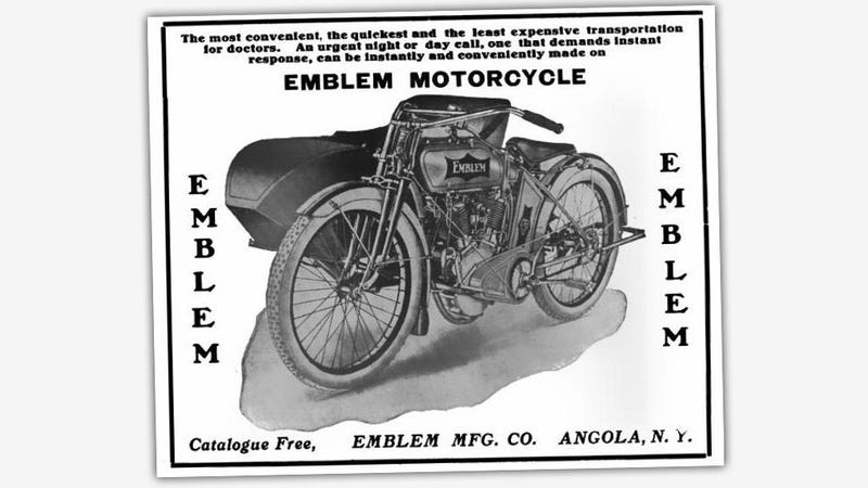 Illustration for article titled Remember When Motorcycles Were Targeted At Doctors?