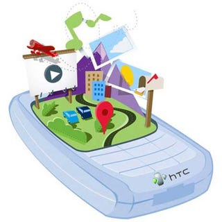 Illustration for article titled HTC Contemplates Writing Own Mobile Software (Or Buying It From Palm)
