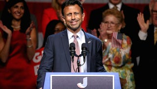 Illustration for article titled Gov. Bobby Jindal Is 'Tanned. Rested. Ready' and Ridiculous