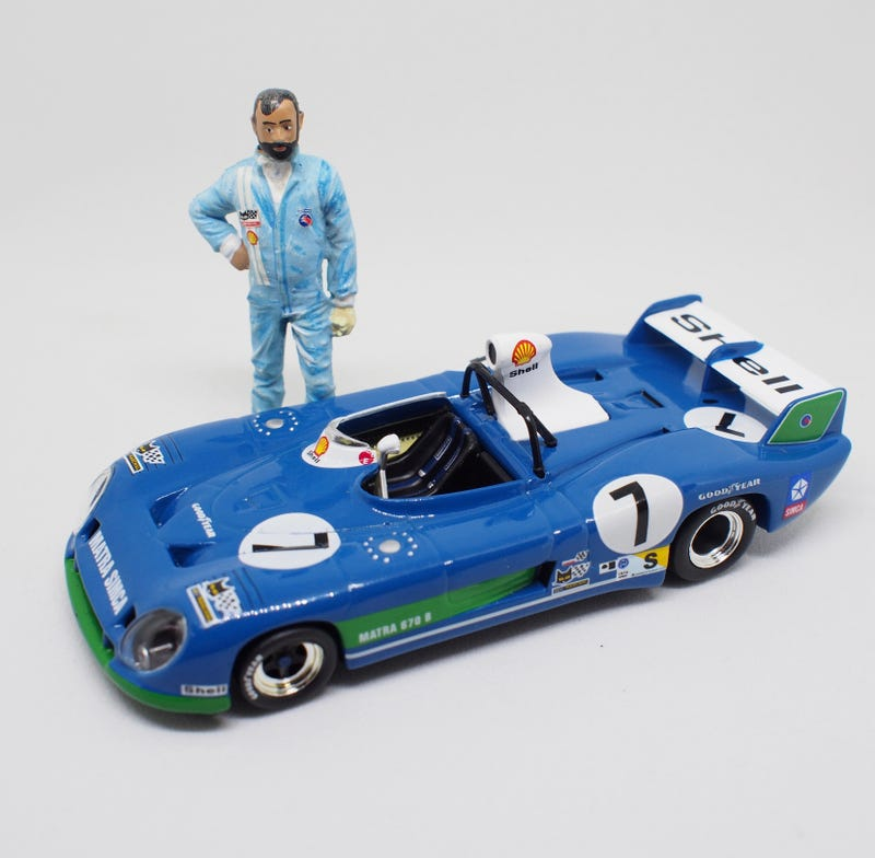 Illustration for article titled LaLeMans - Mr. Le Mans: Pescarolo And The 1974 Matra-Simca MS670B