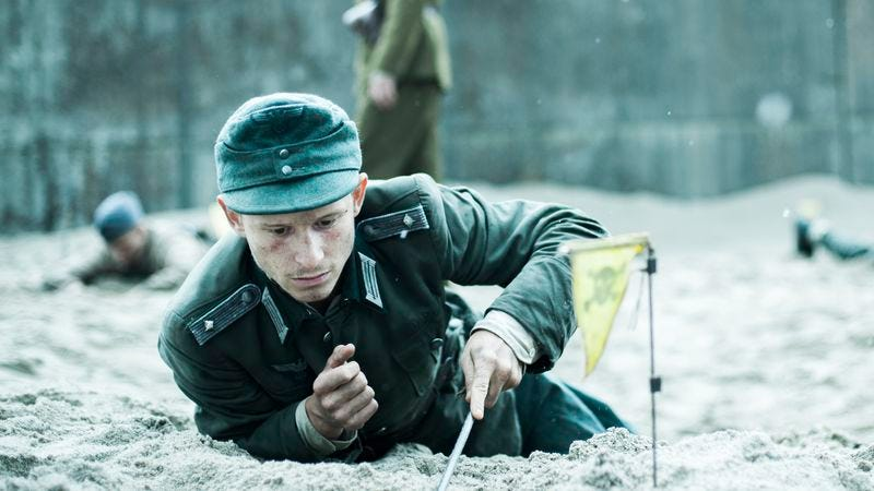 The Oscar-nominated Land Of Mine uncovers another World War II horror story