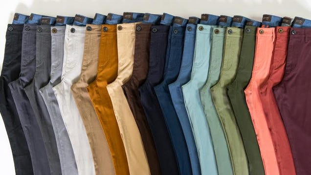 You re Going to Want to Fill Your Closet With These Stretch Chino Pants While They re $38
