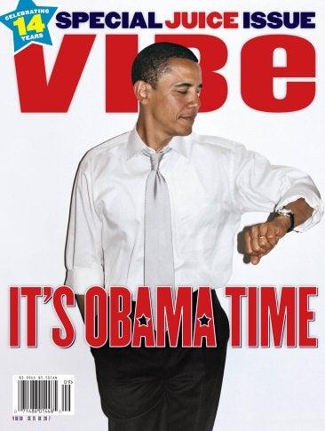 """Illustration for article titled Barack Obama Gets """"Morning Wood"""""""