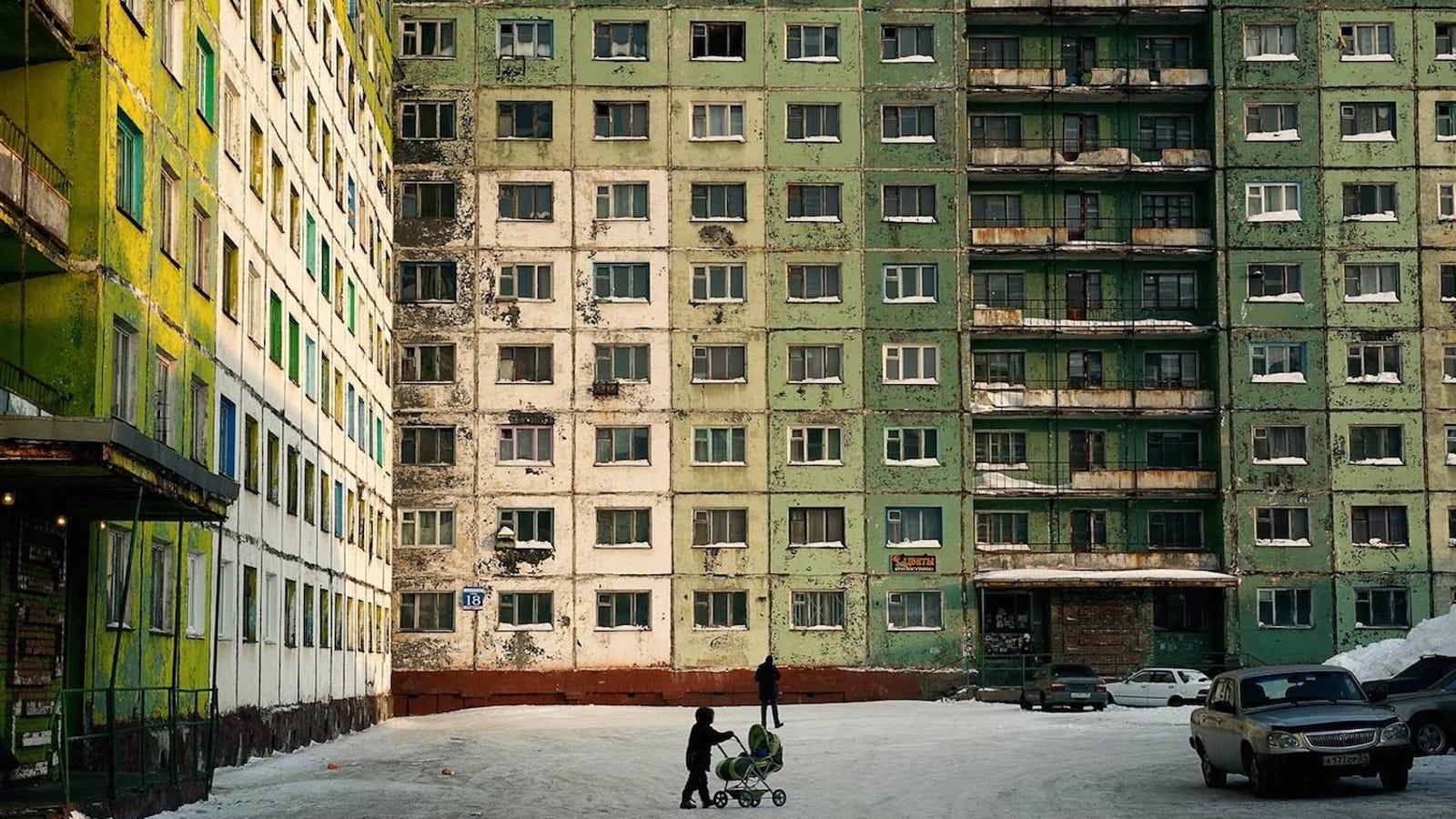 Escenas de Norilsk, el infierno contaminado más al Norte del mundo