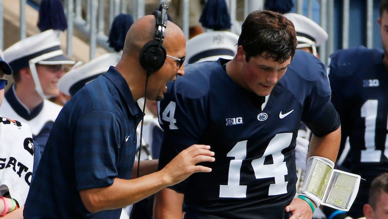 Illustration for article titled Christian Hackenberg Thanks Everyone But His Coach While Declaring For NFL Draft