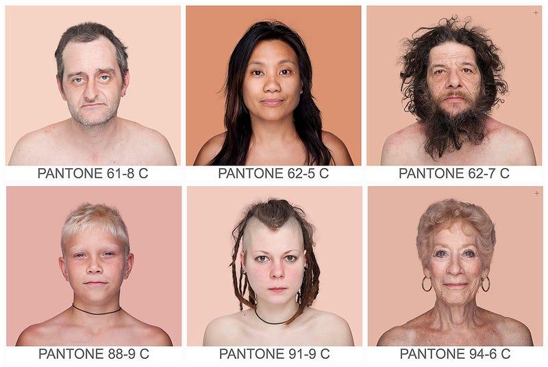 Illustration for article titled Una artista quiere catalogar todos los tonos de piel del mundo