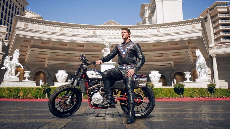 Illustration for article titled Travis Pastrana Will Attempt To Do What Evel Knievel Couldn't