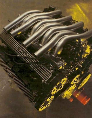 Illustration for article titled Type 909: The Lotus V8 Engine That Never Was