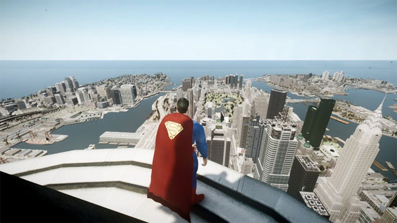 Illustration for article titled Superman Returns (to Liberty City)