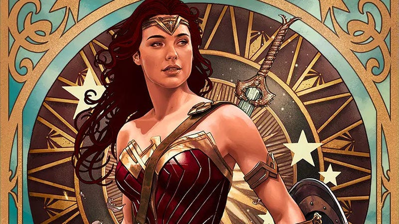 Illustration for article titled Princess Diana of Themyscira