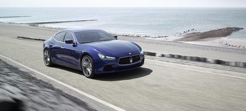 Illustration for article titled Maserati Will Put A 560 Horse V8 In Ghibli, Quattroporte, GranTurismo