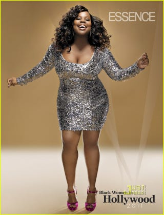 Illustration for article titled Essence Features Glee's Amber Riley In Fierce Photoshoot