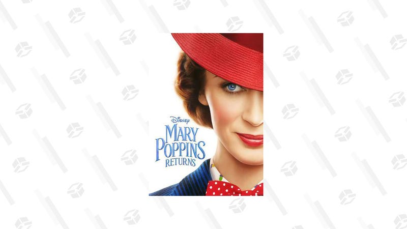 Mary Poppins Returns HD Rental | $3 | Amazon