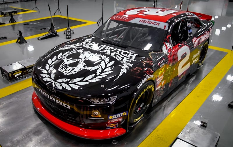 Illustration for article titled This Killswitch Engage NASCAR Car Reminds Me Of All The Band T-Shirts I've Misplaced Over The Years